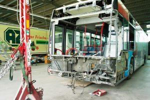 Omnibus Unfallinstandsetzung